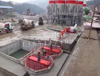 混凝土浆水回收系统